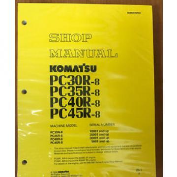 Komatsu Service PC30R-8/PC35R-8,/PC40R-8/PC45R-8 Manual