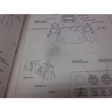 Komatsu D65EX-12 D65PX-12 Dozer Operation & Maintenance Manual Year 1997