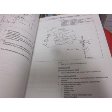 Komatsu TB45E Series Forklift Truck Engines Service Manual