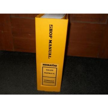 Komatsu PC270LC-7L shop manual A86001 up