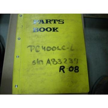 Komatsu Parts Book PC400LC-6, PC400HD-6 Hydraulic Excavator