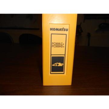 KOMATSU PC300 LC & PC300 HD HYDRAULIC EXCAVATOR Parts Book