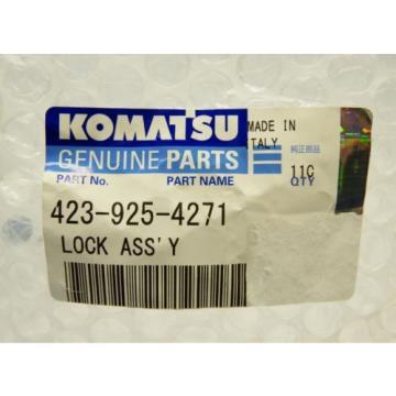 Komatsu 423-925-4271 Lock Assembly Genuine OEM New