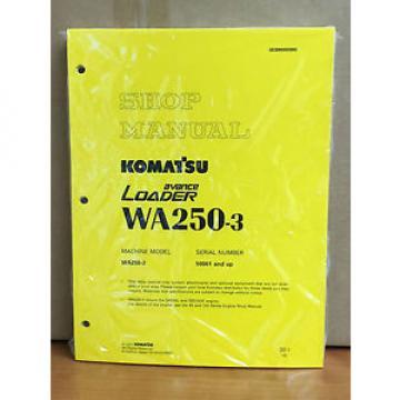 Komatsu WA250-3 Wheel Loader Service Shop Manual #1