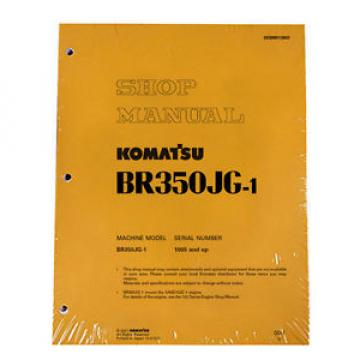 Komatsu Service BR350JG-1 Mobile Crusher Repair Manual