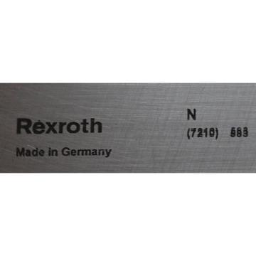 Linearführung India USA Rexroth R167 121 410-587 , Länge 535 mm , Breite 69 mm