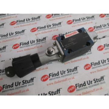 Rexroth Germany Singapore 4WMDA 6 RB53/F Hydraulic Directional Spool Valve - Unused, No Box