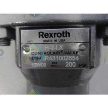 REXROTH USA Korea R431002654 VALVE *USED*