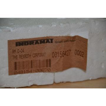 Rexroth USA Egypt Indramat RMO04 RM O-04 Module New