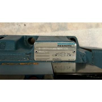 MANNESMANN USA Mexico REXROTH 4WE6J61/EW110N9DAL/V H-4WEH25L63/6EW110N DIRECTIONAL VALVE