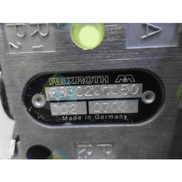 REXROTH Singapore Germany 5630201050 VALVE *NEW NO BOX*