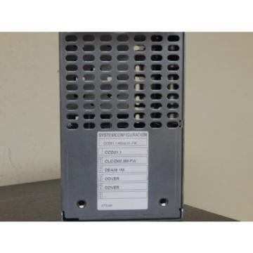 Rexroth France china Indramat CCD01.1-KE02-01-FW //FWA-CLC*DP-GPS-06VRS-MS  Used