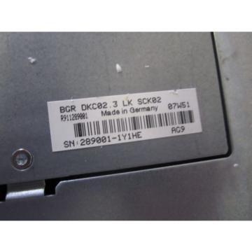 Indramat Egypt India Rexroth DKC02.3-040-7-FW Ecodrive  new