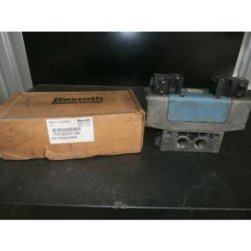 REXROTH Italy Korea R432006196 SOLENOID VALVE