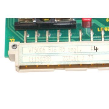 MANNESMAN Germany Korea REXROTH VT5006-S16-R5 PROP AMPLIFIER VT5006S16R5