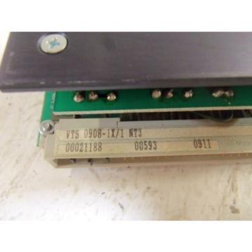 REXROTH Greece Greece VTS0908-1X/1 PC BOARD *USED*