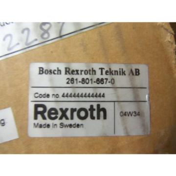 REXROTH China Egypt 261-801-667-0 *NEW IN BOX*