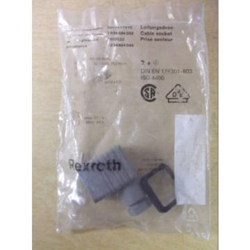 NEW Italy Mexico Rexroth 14A GDM Cable Socket Connector *FREE SHIPPING*