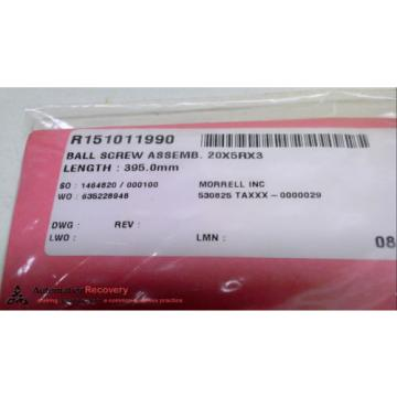 REXROTH Canada Canada R151011990 - 395MM - BALL SCREW ASSEMBLY, LENGTH: 395 MM,, NEW* #226375