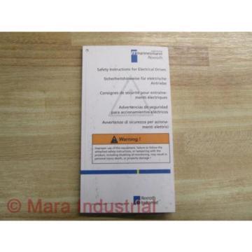 Mannesmann Korea India / Rexroth SVS1-MS-P Manual 209-0069-4102-00 (Pack of 3)