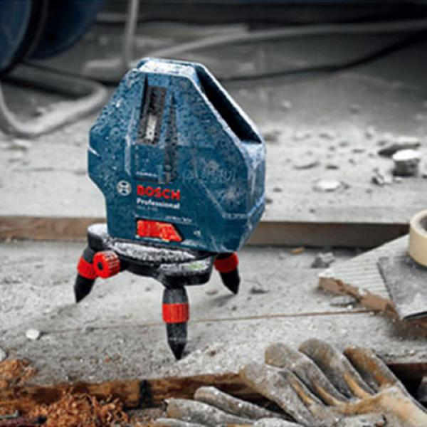 Bosch GLL5-50X Professional 5 Line Laser Level Self-Leveling #4 image