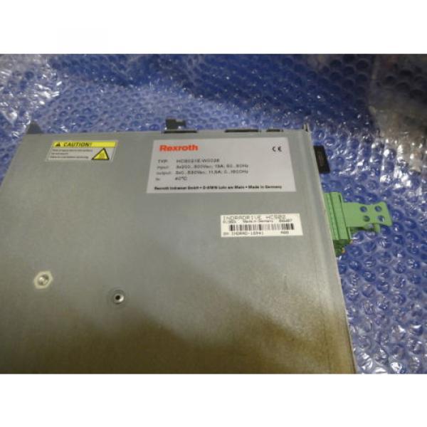 Bosch Canada France Rexroth Indramat HCS02.1E-W0028 mit Speicherkarte #7 image