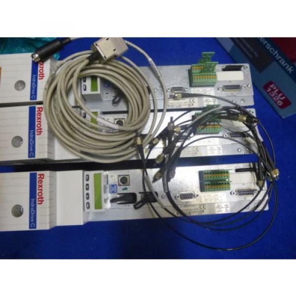 Bosch Canada France Rexroth Indramat HCS02.1E-W0028 mit Speicherkarte #9 image