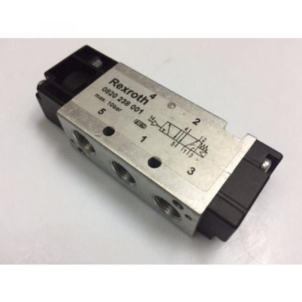 0820238001 Australia India Aventics/ Rexroth 5/2-1/8 in Pneumatic Directional Control Valve #1 image