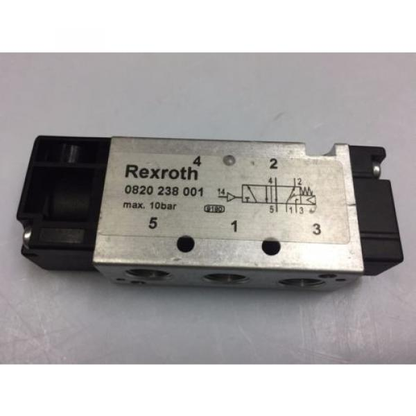0820238001 Australia India Aventics/ Rexroth 5/2-1/8 in Pneumatic Directional Control Valve #3 image