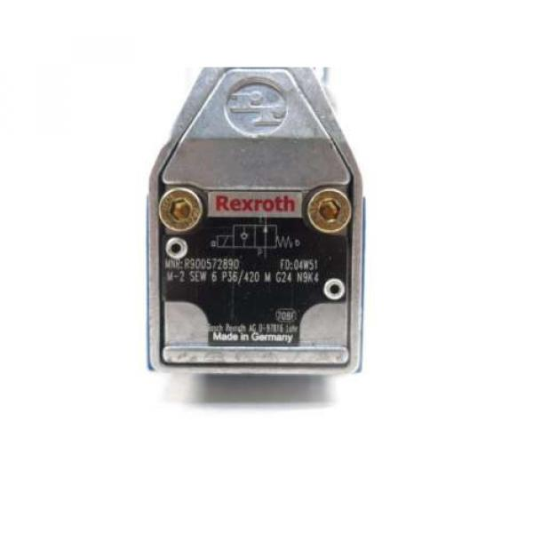 REXROTH Greece Germany R900572890 M-2SEW6P36/420MG24N9K4 24V-DC SOLENOID VALVE D525270 #6 image