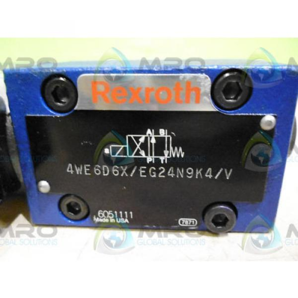 REXROTH Korea Germany 4WE6D6X/EG24N9K4/V *USED* #1 image