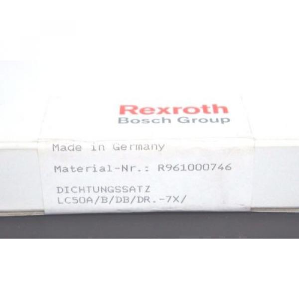 NEW Dutch Japan SEALED BOSCH REXROTH R961000746 CARTRIDGE VALVE SEAL KIT LC50A/B/DB/DR.-7X #2 image