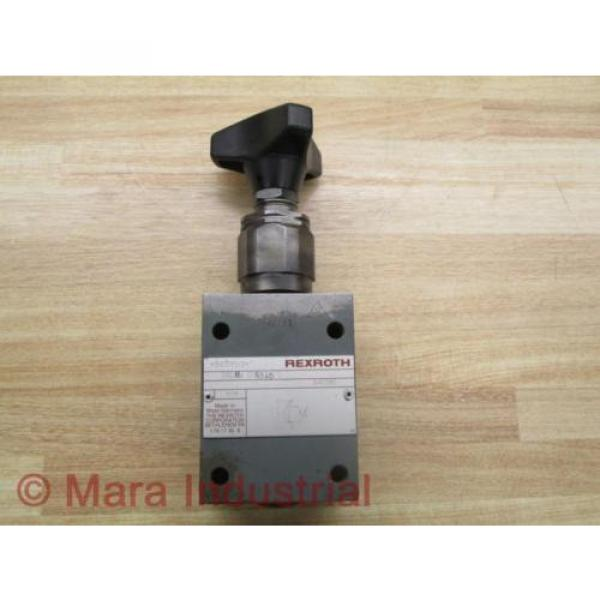 Rexroth Mexico India DBDH6 G16315/12 Pressure Relief Valve - Used #5 image