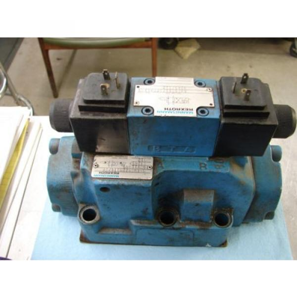 REXROTH China Greece DIRECTIONAL VALVE # H 4WEH22HD74/OF6EW110N9 /  4WE6D61/OFEW11ON9Z45/B12 #2 image