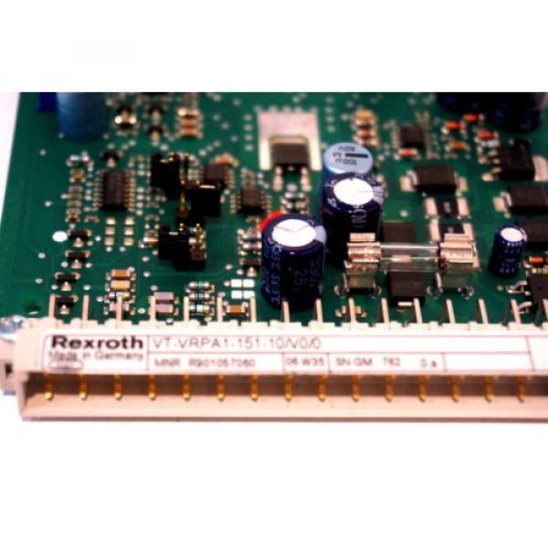 NEW Egypt Egypt BOSCH REXROTH VT-VRPA1-151-10/V0/0 AMPLIFIER BOARD VTVRPA115110V00 #5 image