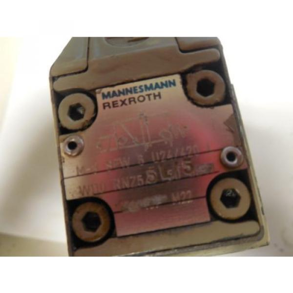 REXROTH Germany France SOLOIND VALVE M-3 SEW 6 U24/4720 L W110 RNZ55L/5  M3SEW6U244720 L #2 image