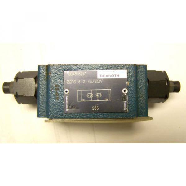 REXROTH Dutch Australia Z2FS-6-2-43-2GV FLOW CONTROL VALVE #1 image