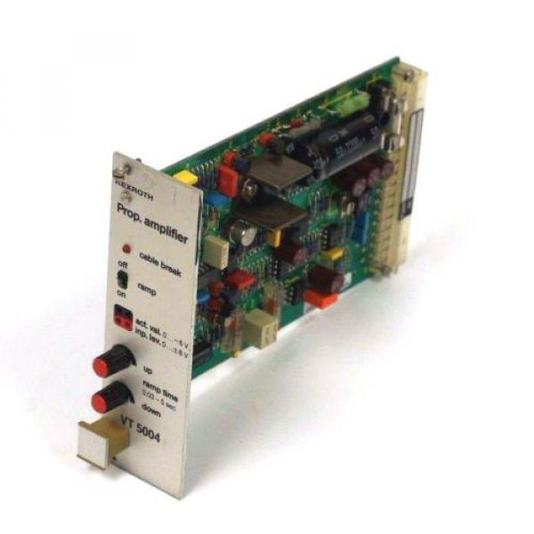 REXROTH Egypt Mexico VT-5004S20-R5 AMPLIFIER CARD 1252/1283, VT5004S20R5 REPAIRED #1 image