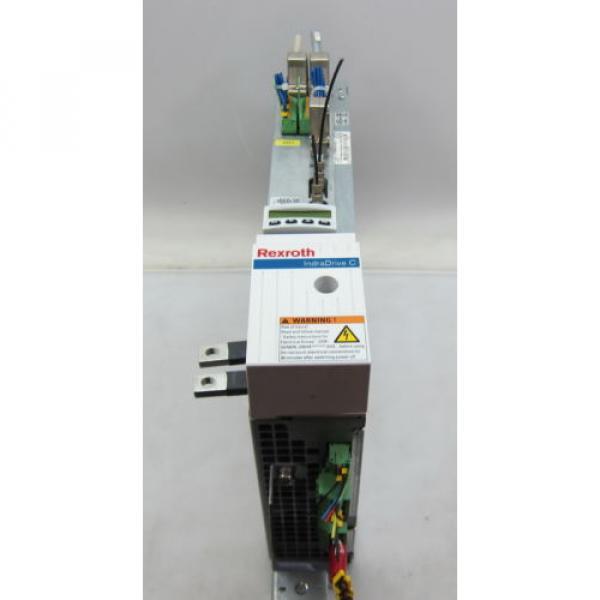 REXROTH Italy India HCS02.1E-W0028-A-03-NNNN IndraDrive C SERVO DRIVE SERCOS INTERFACE #2 image