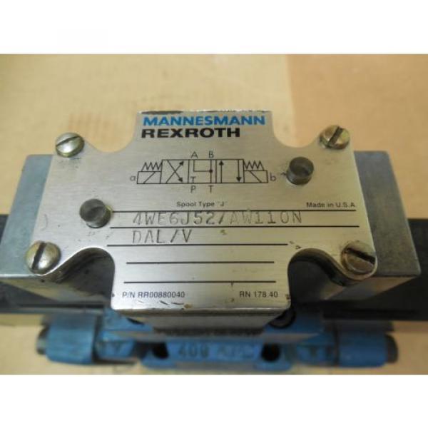 Rexroth France china Directional Valve 4WEH10J40/6AW110NETDAL/V 4WE6J52/AW110N DAL/N 120V #2 image