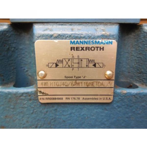 Rexroth France china Directional Valve 4WEH10J40/6AW110NETDAL/V 4WE6J52/AW110N DAL/N 120V #3 image