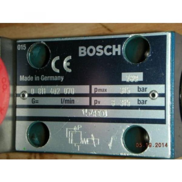 Bosch Canada Germany Rexroth 0 811 402 070 Hydraulic Proportional Valve DBETBEX-1X/315G24K31A1M #3 image