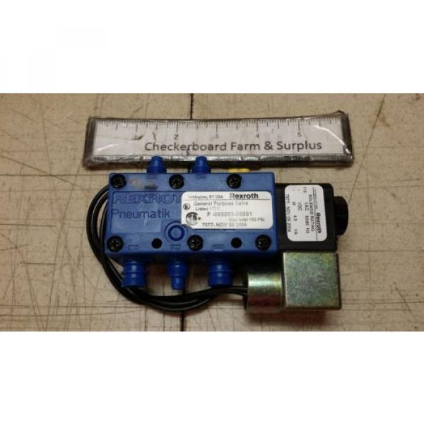 "NOS Egypt Italy Rexroth Solenoid Valve P69883-1 069883-00001 1/2"" 150 PSI 110 V-AC 60 Hz #2 image"