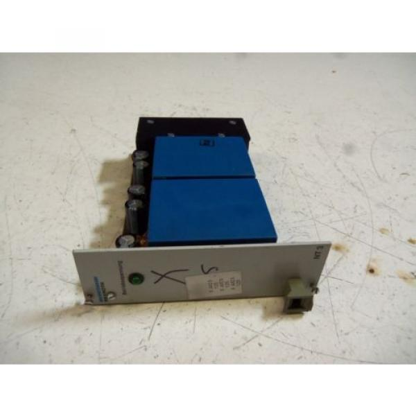 REXROTH Canada Canada VTS 0908-1X/2/NT3 POWER SUPPLY MODULE *USED* #1 image