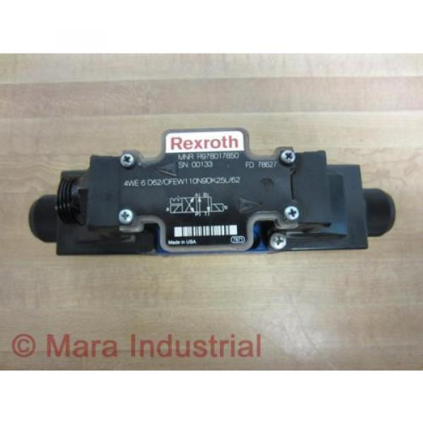 Rexroth Dutch Australia Bosch R978017850 Valve 4WE 6 D62/OFEW110N9DK25L/62 - New No Box #7 image