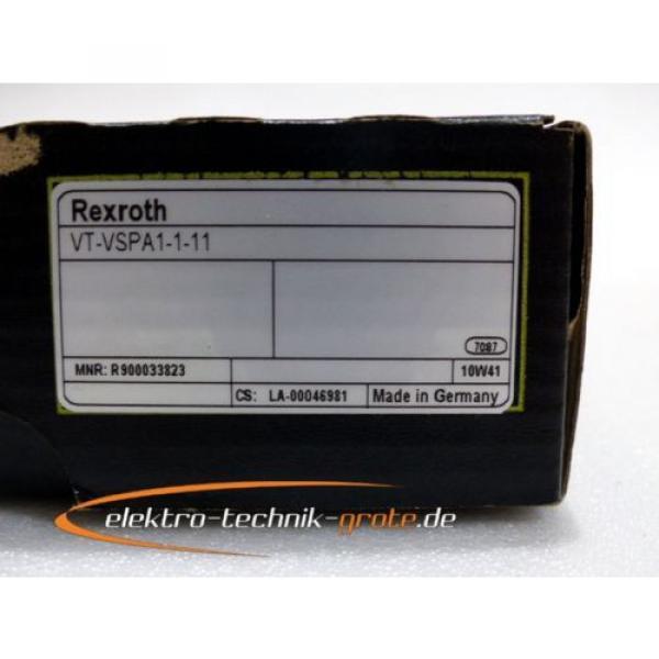 Rexroth Egypt USA VT-VSPA1-1-11 Verstärker Karte, Serien-Nr. gemäß Foto > ungebraucht! < #4 image