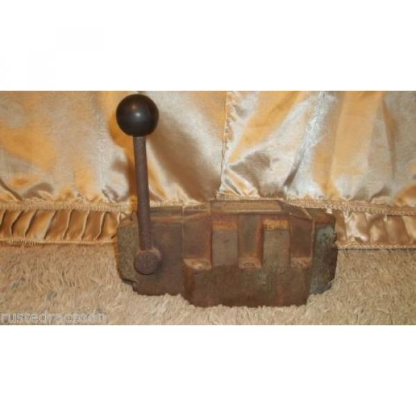 REXROTH Mexico Japan VALVE Made in Germany Vintage Tool Weighs Almost 19 pounds Barn Find #1 image