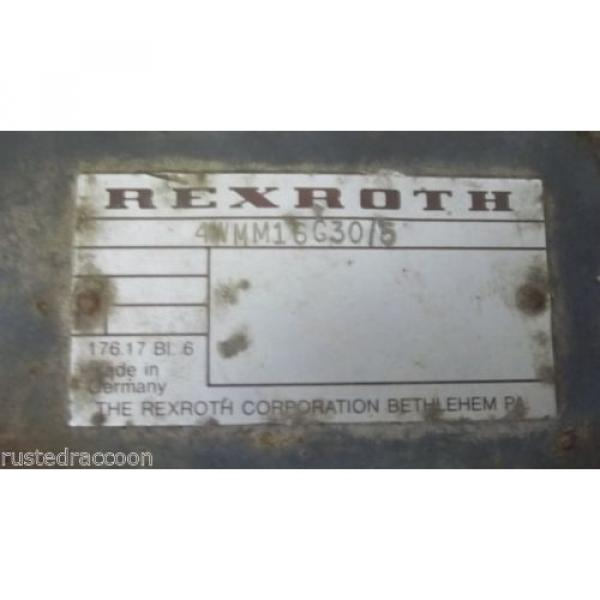 REXROTH Mexico Japan VALVE Made in Germany Vintage Tool Weighs Almost 19 pounds Barn Find #3 image
