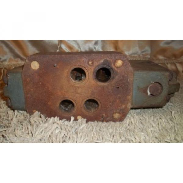 REXROTH Mexico Japan VALVE Made in Germany Vintage Tool Weighs Almost 19 pounds Barn Find #6 image