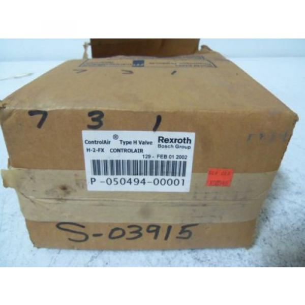 REXROTH Egypt Russia H-2-FX CONTROLAIR VALVE *NEW IN BOX* #1 image